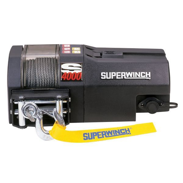 Superwinch s4000 elektrisk trailerspil