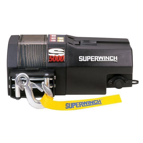 Superwinch s5000 2270kg 24v.