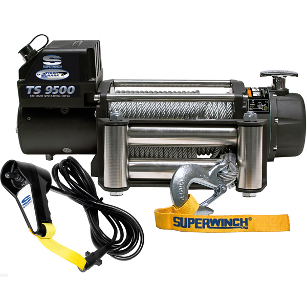 Superwinch tiger 9.5 12v 4.309 kg træk