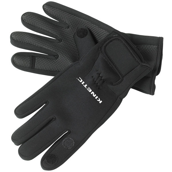 Kinetic neoprene handske l sort