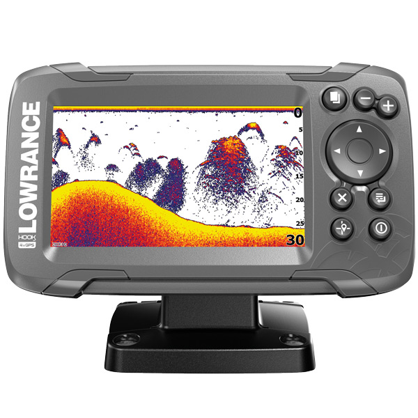 Lowrance hook2 4x, hæktransducer 200hz