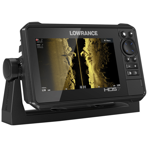 Lowrance hds-7 live med al 3-in-1 transducer