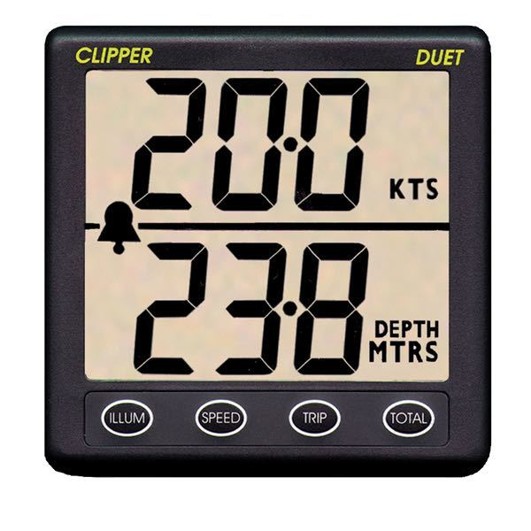 Clipper duet incl. transducer
