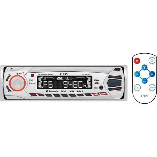 Ltc pro 1080bt marineradio m/bluetooth & i-control