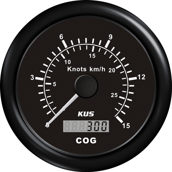 Kus gps speed,sort 12/24v