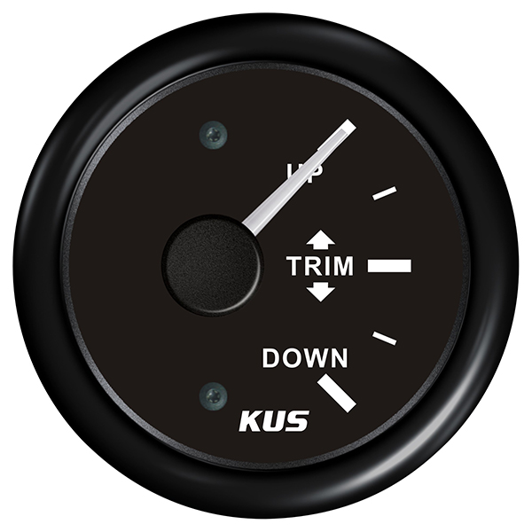 Kus trimindikator, sort 160-10ohm, 12/24v