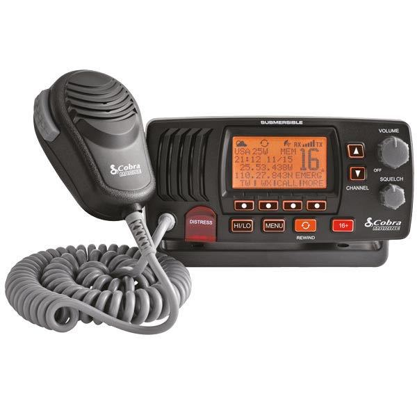 Cobra vhf radio mrf57 sort
