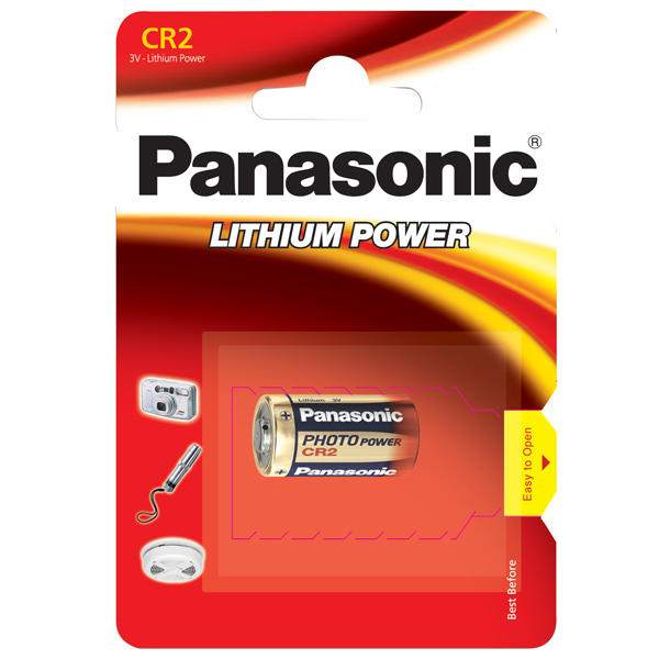 Panasonic cr2 1 stk