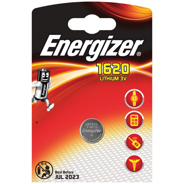 Energizer batteri cr 1620 3v