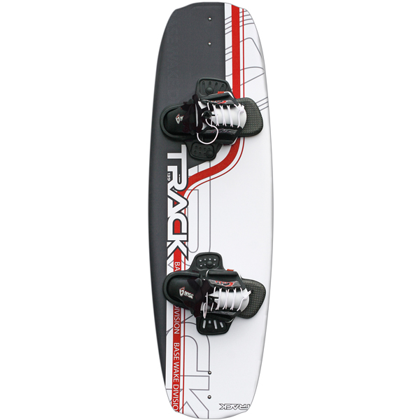 Base track wakeboard pakke;  board 139cm, bindinge