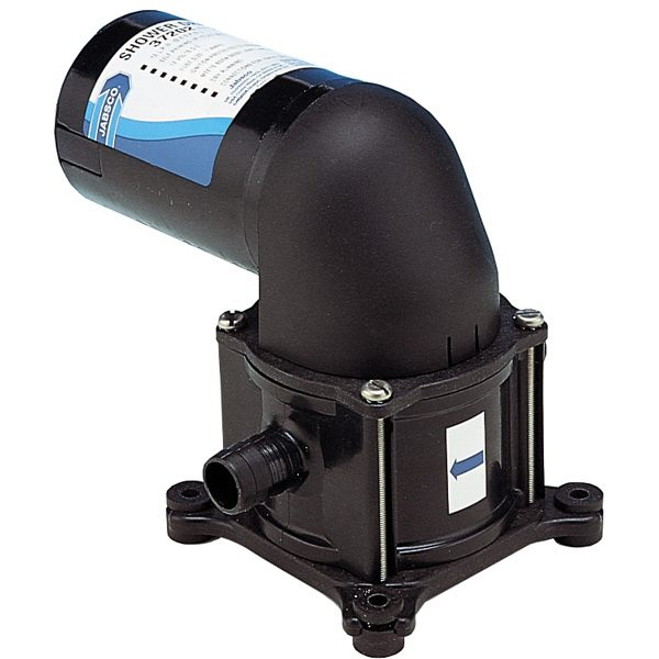 Jabsco 37202-2012 membranpumpe 12v m/filter 19mm