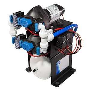 "Jabsco 52530-1100 ""double stack water system"" 24v"