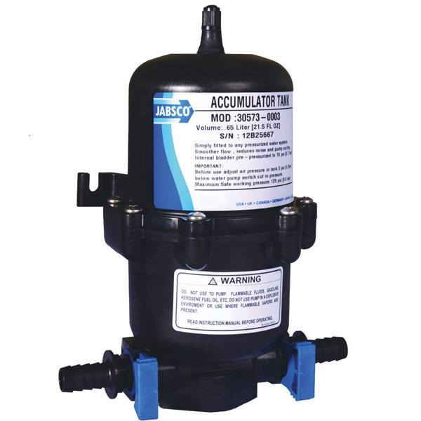 Jabsco 30573-0003 akkumulatortank 0.6l