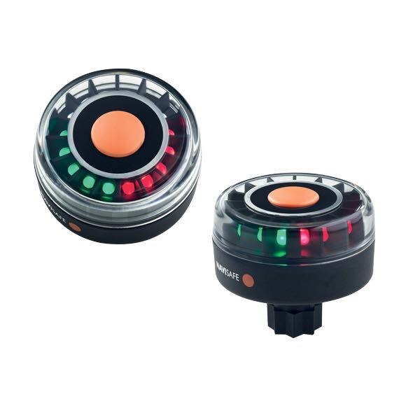 Rne rød/grøn navilight m/ 16 led ø68mm - railblaza