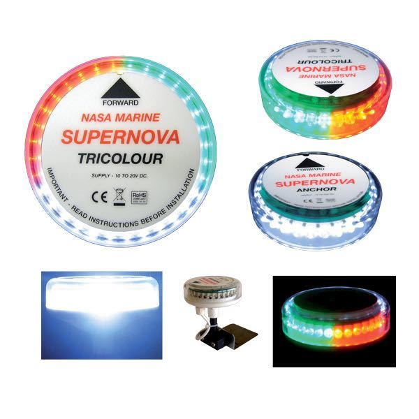 Led lanterne supernova tricolour