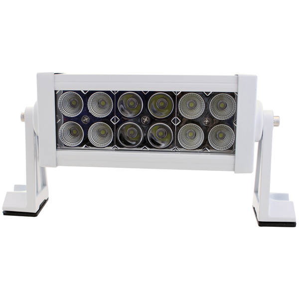 1852 led light bar 10-30v 36w combo, hvid alu hus