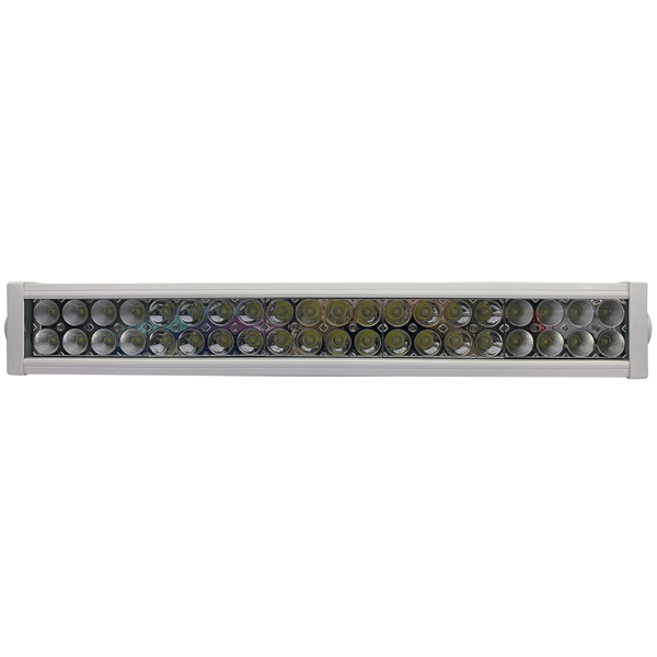 1852 led light bar 10-30v 120w combo, hvid alu hus