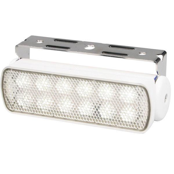 Dækslys sea hawk led 9-33 volt hvid ip67 200lumen