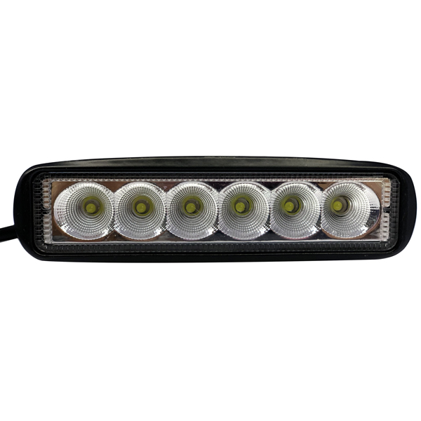 1852 led dækslys 10-30v 30 watt flood 16 x 4,5 x 5