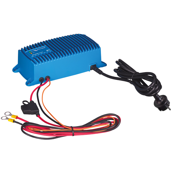 Victron blue smart lader 12v 17amp. 1 grp. ip67