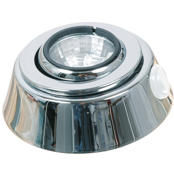 Loftslampe 12v10w ø100mm chrom
