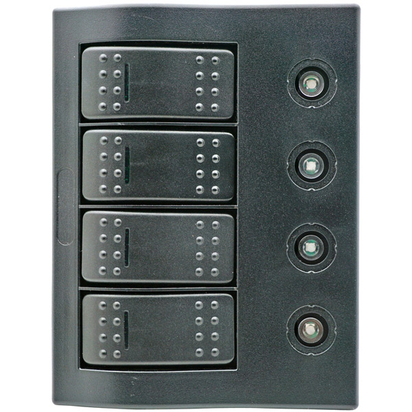 1852 elpanel med automat sikringer 2x5a, 10a, 15a,