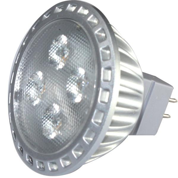 Nauticled spot mr16 ø50mm 10-30vdc 5/30 watt 35 gr