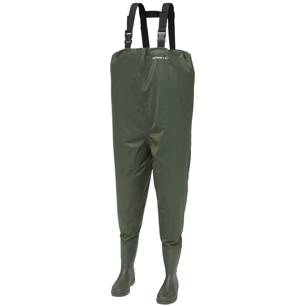 Kinetic thor nylon waders 44