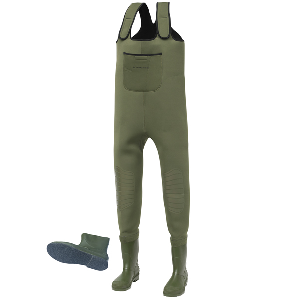 Kinetic neogaiter neopren waders 48-49