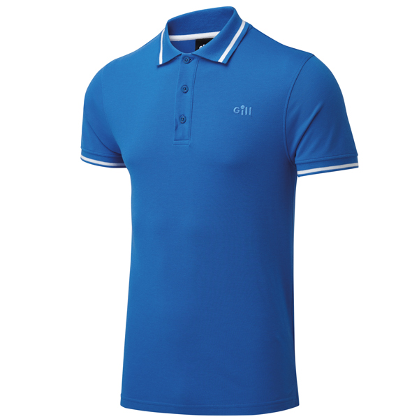 Gill 4453 mens helford polo blå str xl