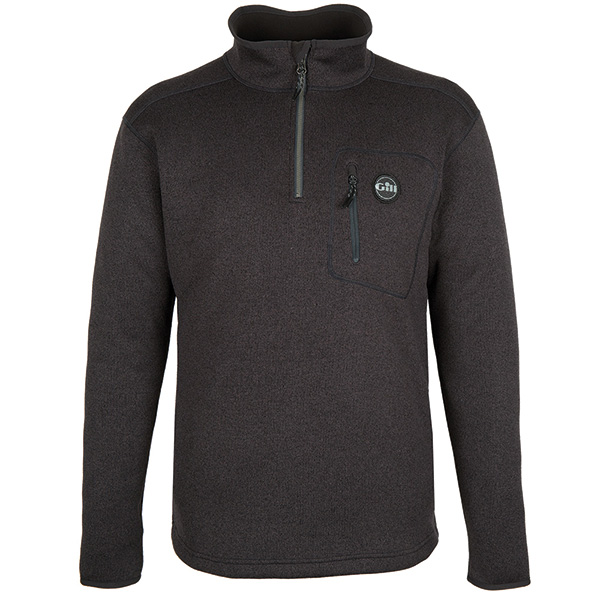 Gill 1492 mens knit fleece graphite str. x-large