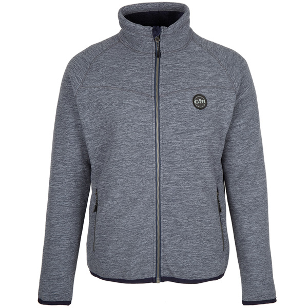 Gill 1703 fleece polar jakke blå str l