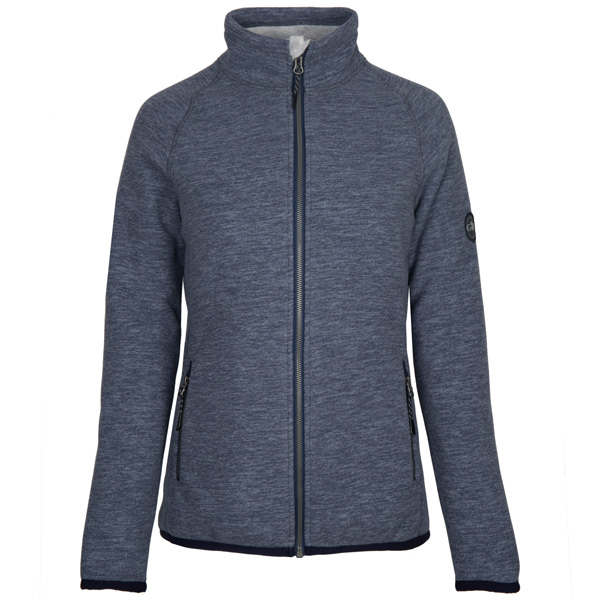 Gill 1703w fleece polar dame jakke blå str 14