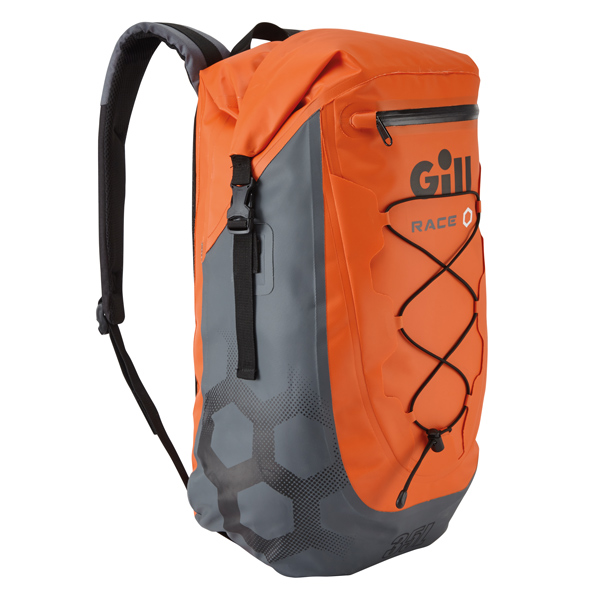 Gill rs20 race bag orange 35 l