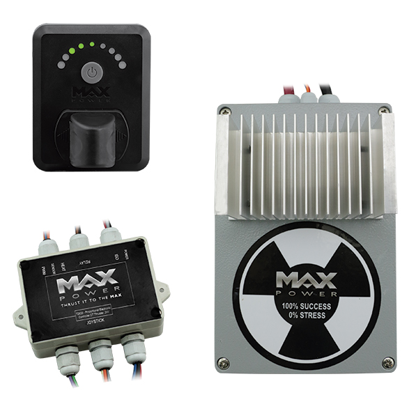 Max power proportional elektroniske system kit til