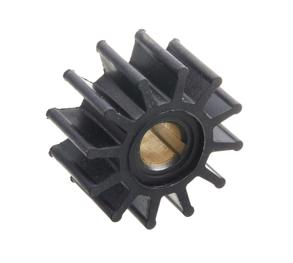 Impeller type 3 - øa=15,9 h=31,7 ø=62 lam=12 (*/o)
