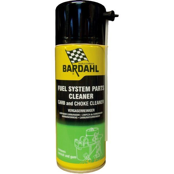 Bardahl fuel system parts cleaner - systemrens