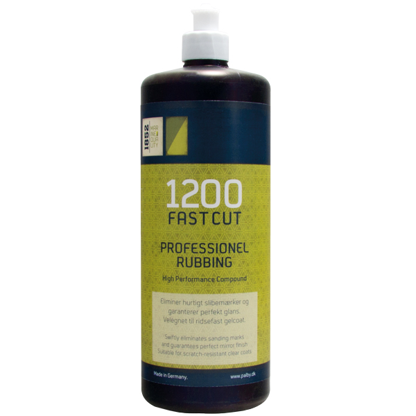 1852 fastcut 1200 500 ml professionel rubbing