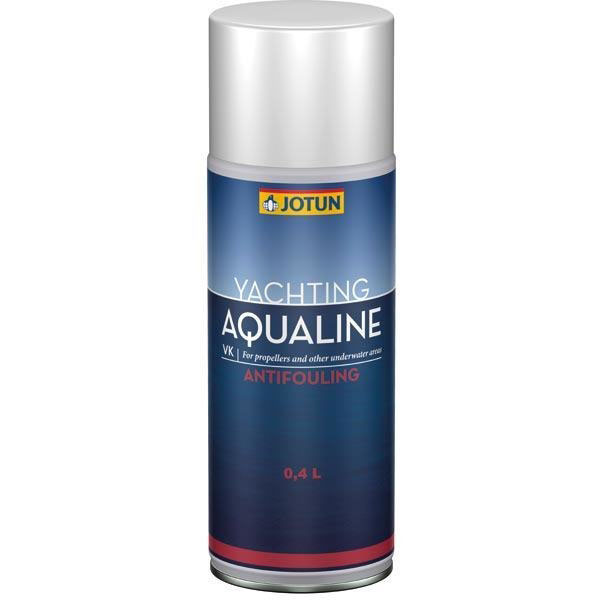 Aqualine drev og propel maling sort 400ml