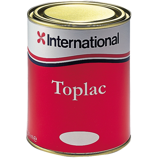 International toplac fire rød 504,  750 ml