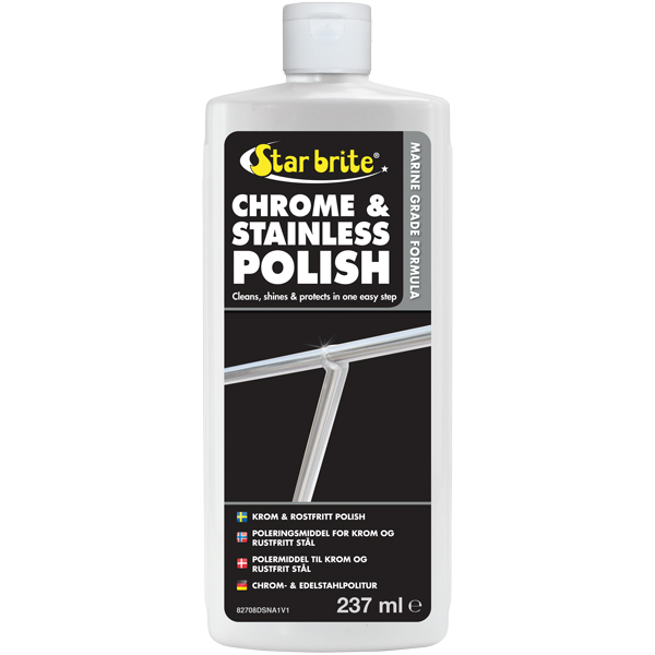 Star brite chrome & rustfri polish 250 ml