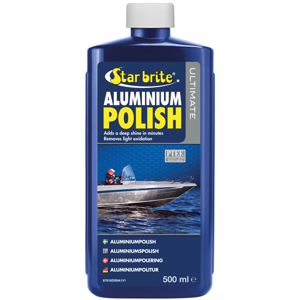 Star brite ultimate aluminium polish med ptef 500