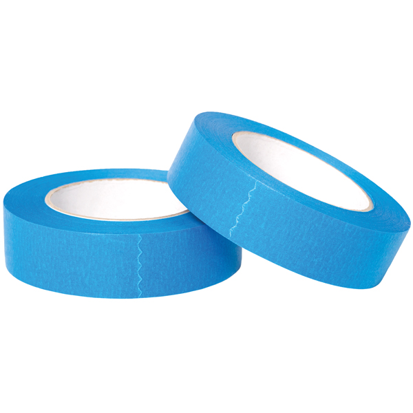 1852 blå uv bestandig male tape 30 mm x 50 meter