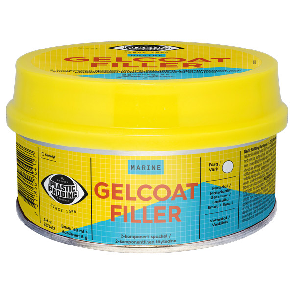 Gelcoat filler 180 ml.