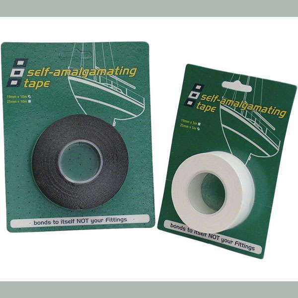 Psp vulkaniserende tape sort 19mm x 5m