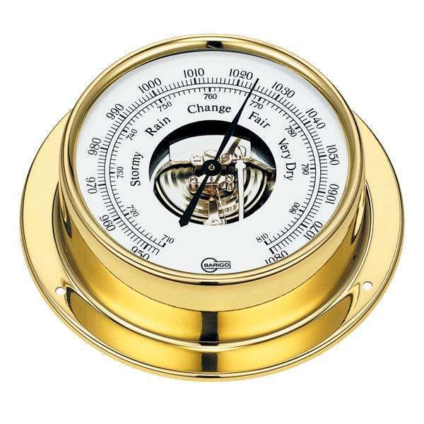 Barigo tempo barometer ø85/110mm messing