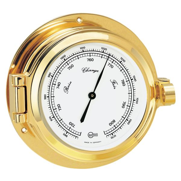 Barigo poseidon barometer ø85/120mm messing
